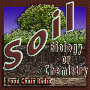 Michael Olson Food Chain Radio - Which is best to eat: foods grown with biology or foods with chemistry?